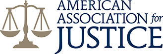 Logo Recognizing Di Bartolomeo Law Office's affiliation with American Association for Justice