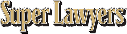Logo Recognizing Di Bartolomeo Law Office's affiliation with Super Lawyers